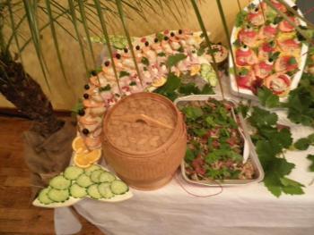 Buffet de mariage Français Laossien No 1