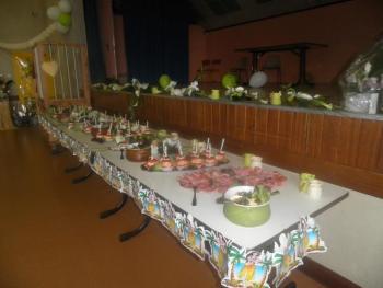 buffet de lendemain de mariage