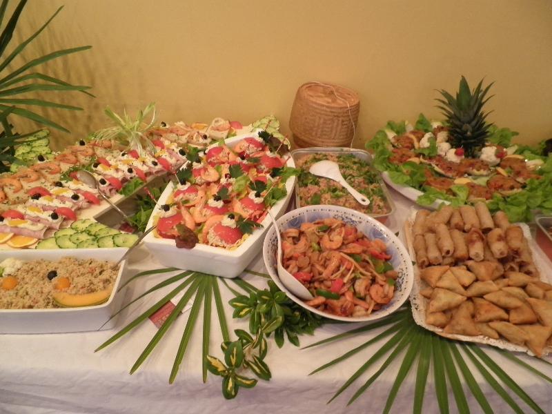 Mariage buffet no 2 - Decoration buffet froid mariage ...